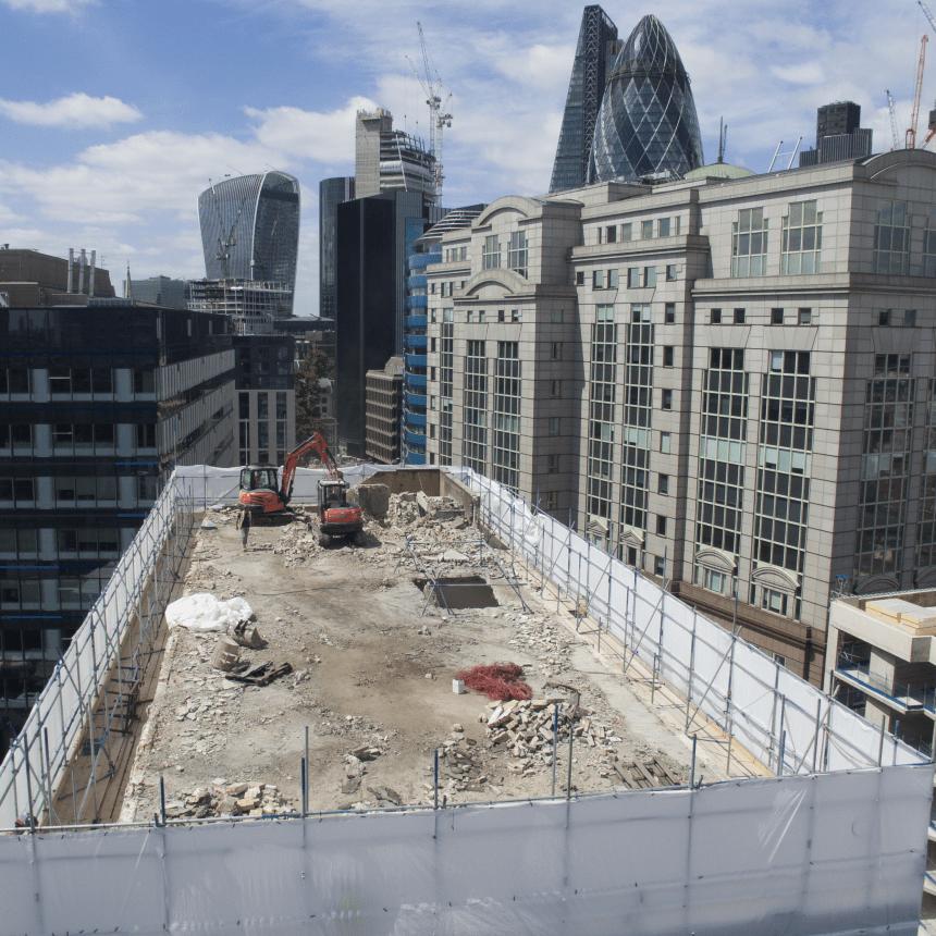 demolition scaffolding