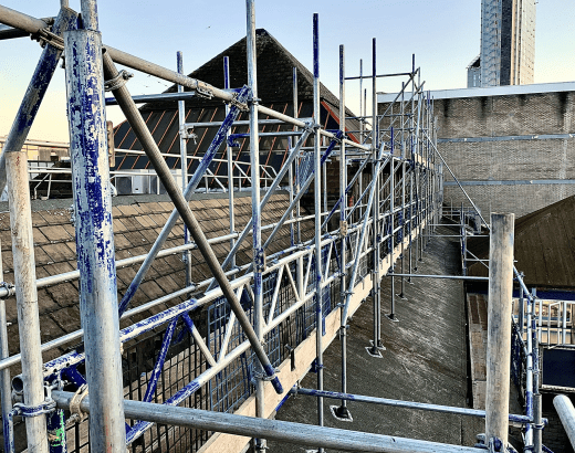 Rail Scaffolding Services For London & The South East